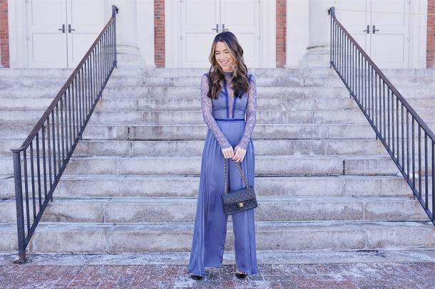ohsoglam blogger jumpsuit shoes jewels bag