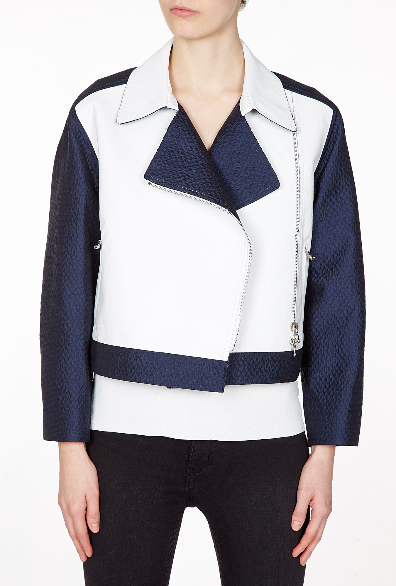 3.1 Phillip Lim  | Leather Combo Jacket by 3.1 Phillip Lim