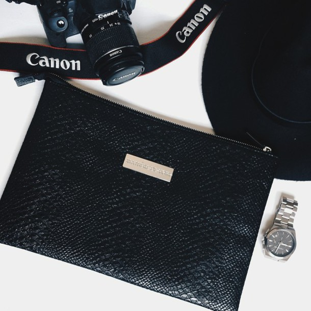 Bag Leather Effect Clutch Clutch Style Fashion Canon