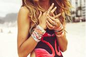 jewels,hipanema,boho,festival,beach,france,bracelets,jewelry bracelets,tourquise,aztec,rio de janeiro,jewelry,swimwear,ring,girly,shirt