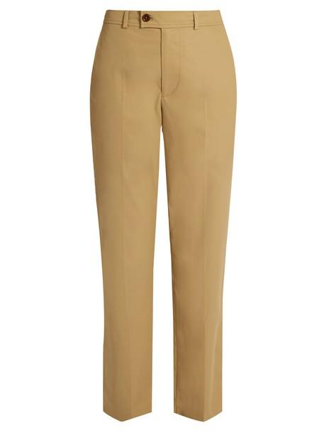 Isabel Marant cotton beige pants