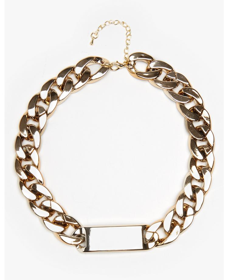 Impulse Curb Chain Necklace | BANK Fashion