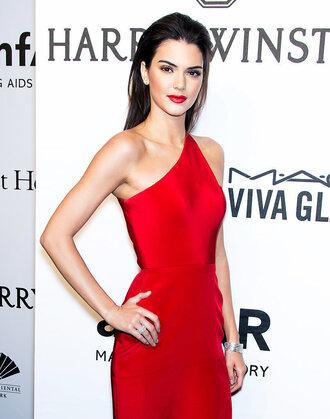 dress kendall jenner red dress celebrity style