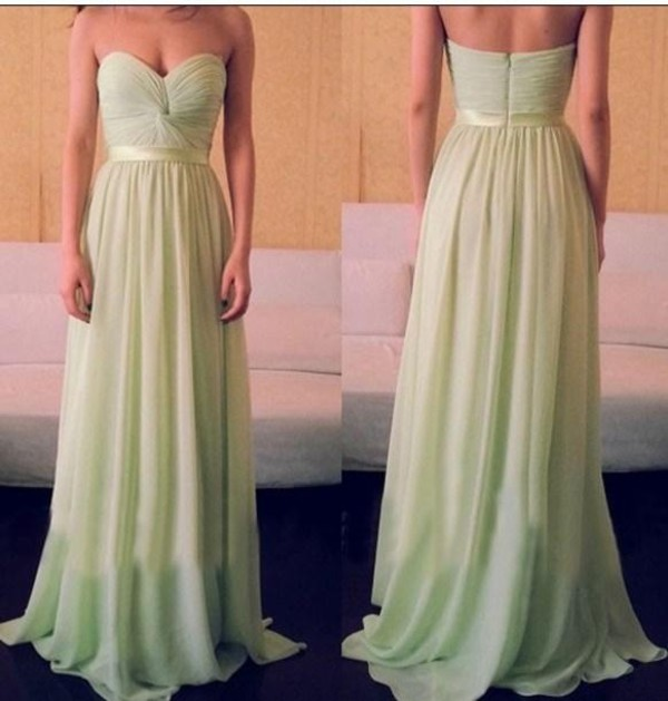 prom dress long dress chiffon dress evening dress evening dress mint dress chiffon evening dress prom dress 2014 prom dress prom dress