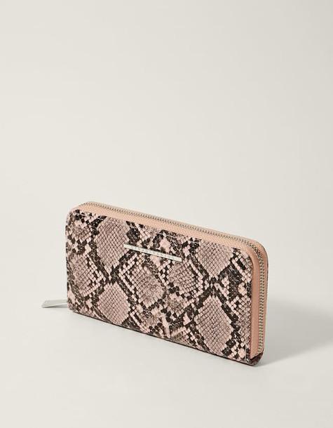 zip pastel purse pink pastel pink bag