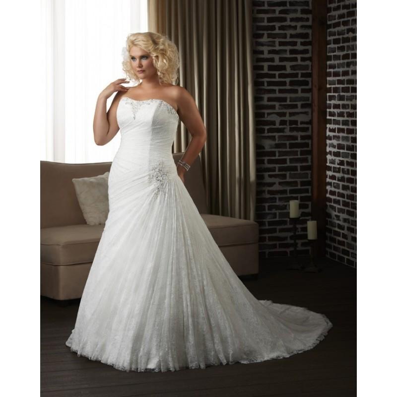 Bonny Unforgettable 1300 Plus Size Wedding Dress - Crazy Sale Bridal Dresses|Special Wedding Dresses|Unique 2016 New Style Dresses
