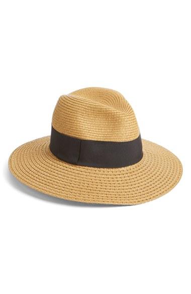 Nordstrom Wide Brim Straw Panama Hat | Nordstrom