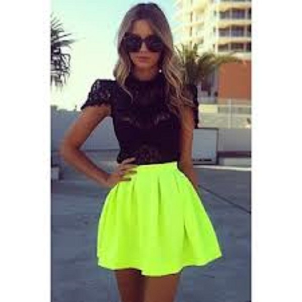 skirt neon