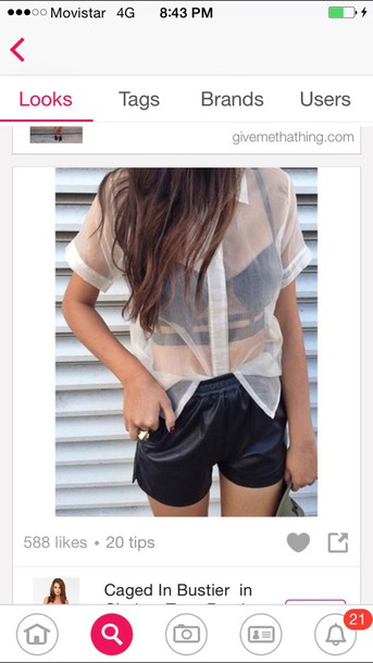 blouse t-shirt shirt top shorts