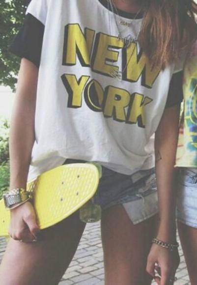 new york city t-shirt graphic graphic tee