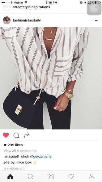 blouse white top white white t-shirt red
