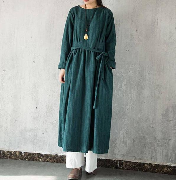 dress long dress gown