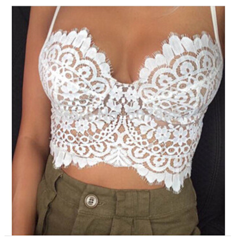 5af3186a688 Aliexpress.com : Buy 2016 Summer New Women Tank Tops Short Vest Solid Hollow  Out V Neck Sexy ...