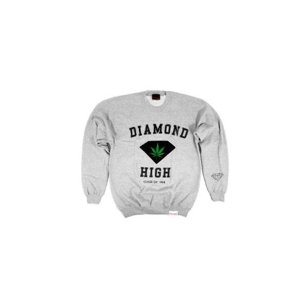 Diamond High Crewneck Sweatshirt from Diamond Supply Co. - Polyvore