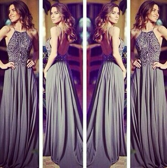 dress prom dress pinterest grey dress