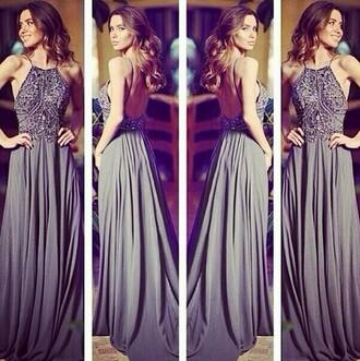 dress prom dress pinterest grey dress beautiful dress