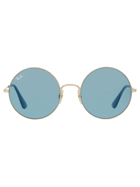 Ray-Ban metal women sunglasses blue