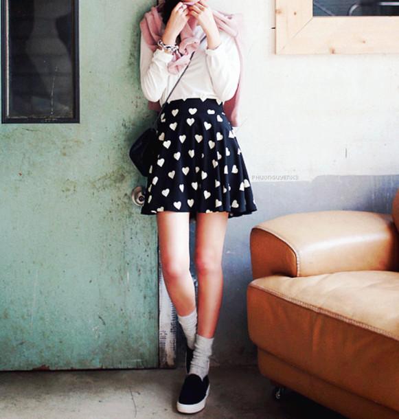 skirt sweetheart printed skirt