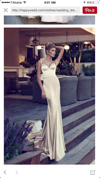 dress gold wedding dress spaghetti strap wedding dress gold dress wedding dress spaghetti straps dress