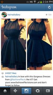 dress,black,little black dress,instagram,pretty,cute dress,skater dress,sweet slim dress,tutu dress