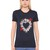 Heart Embroidered Cotton Jersey T-shirt