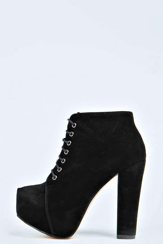 Holly Suedette Block Heel Boot