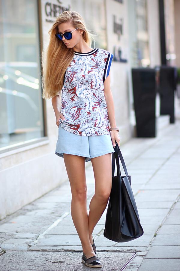 sirma markova top bag sunglasses jewels shoes