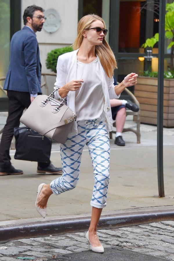pants rosie huntington-whiteley sunglasses shoes bag