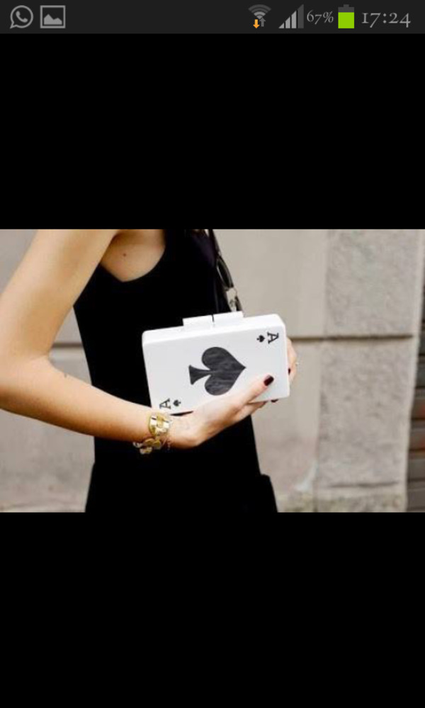 bag clutch white clutch