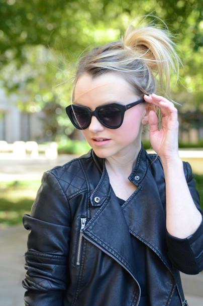 poor little it girl blogger t-shirt bag jacket jewels
