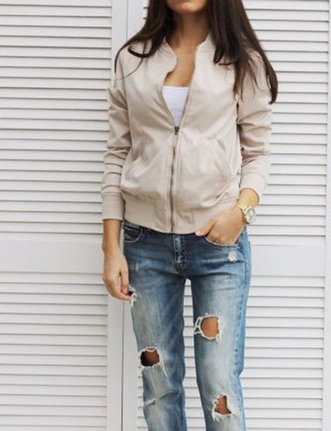 Jacket bomber jacket outfit outfit idea tumblr outfit streetwear streetstyle casual ...