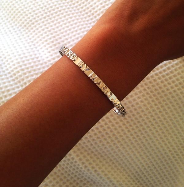 jewels bracelets marc by marc jacobs minimalist silver minimalist jewelry marc jabobs braclet gold pretty
