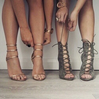 shoes green olive green strappy heels heels fall accessories fall outfits beige nude nude high heels suede shoes suede