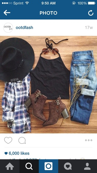 jacket fall outfits flannel shirt