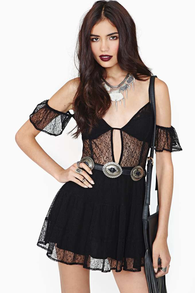 For Love & Lemons Iris Dress  in  Clothes Dresses at Nasty Gal