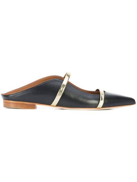 MALONE SOULIERS women shoes leather black