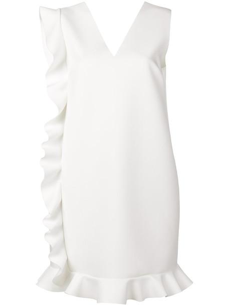 MSGM dress women spandex white