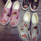 Harajuku junk food print shoes