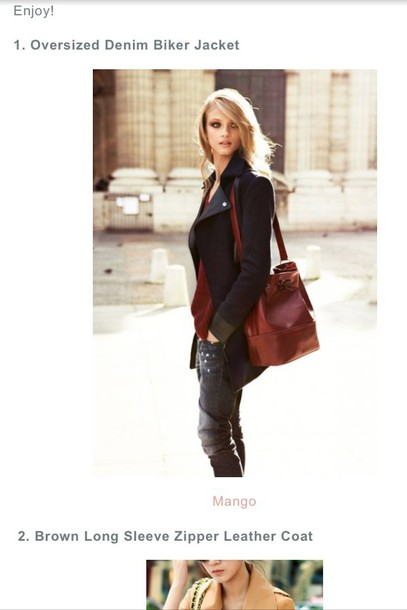 bag brown leather bag