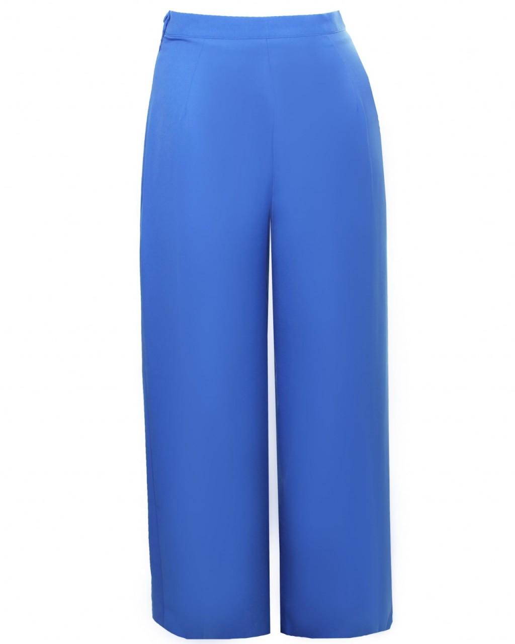 LOVE Blue Palazzo Pants