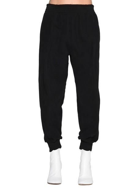 Mm6 Maison Margiela pants black