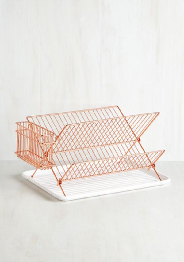 home accessory copper dinnerware kitchen metallic home decor
