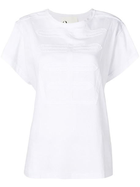 8pm t-shirt shirt t-shirt women white cotton top