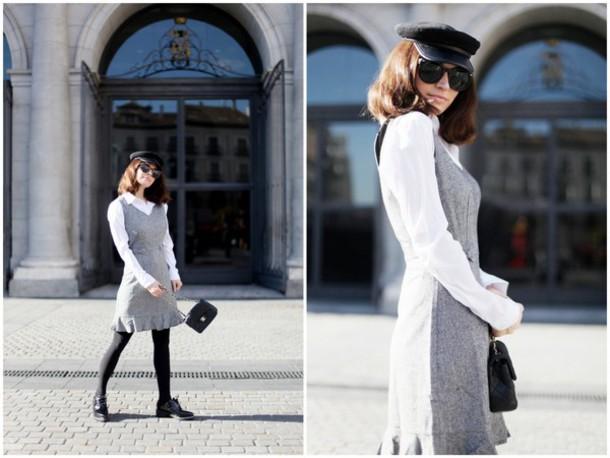 frassy blogger dress shirt bag hat
