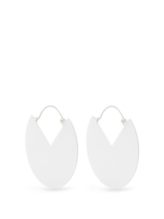 earrings white jewels