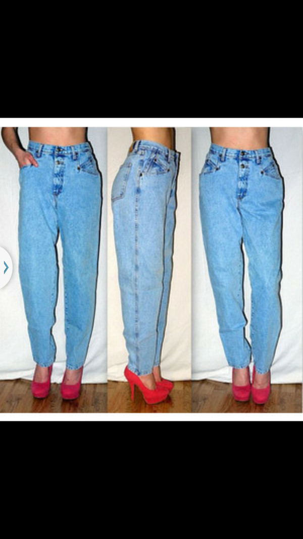 jeans 80s 90s jeans