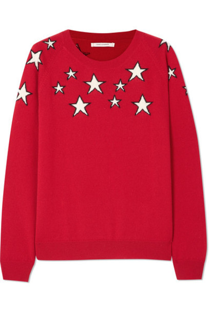Chinti and Parker sweater red
