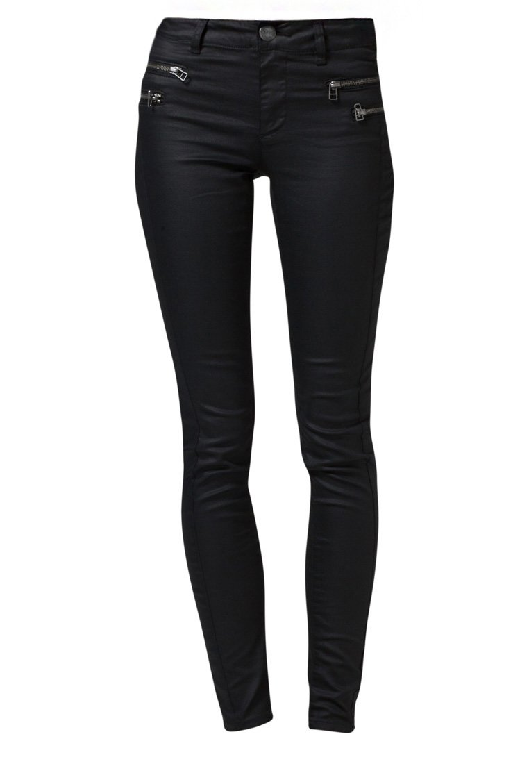 ONLY OLIVIA COATED - Jeans Slim Fit - black - Zalando.de