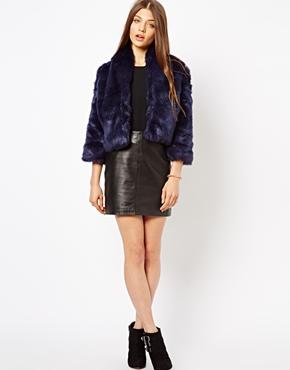 Jarlo | Jarlo Pam Faux Fur Jacket at ASOS