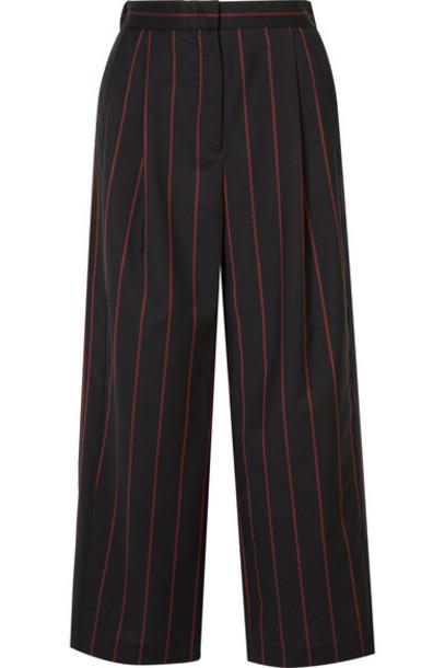 Versus Versace pants cropped black wool